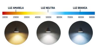 Temperatura de cor é importante na escolha da lâmpada LED