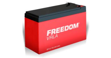 Freedom lança linha VRLA no Brasil