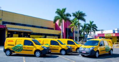 DHL amplia frota de carros elétricos