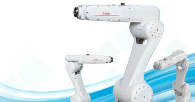 Robô industrial vertical de 6 eixos