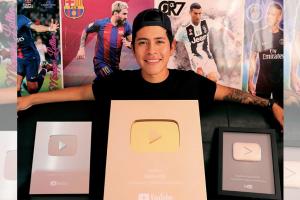 Edson Castro, el primer Youtuber boliviano en superar el 1M de suscriptores