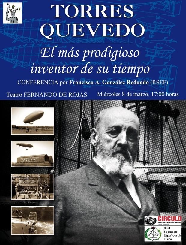Cartel T.Q. Con Ciencia en la Escuela (32x44 cm.) - copia