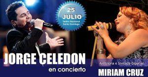 Jorge Celedon y Miriam Cruz en Teatro nacional