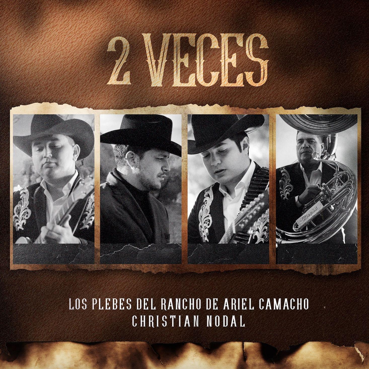 """Christian Nodal y Los Plebes del Rancho, narran en """"2 Veces"""" la realidad que sufren muchas personas - Revista Que Tal"""