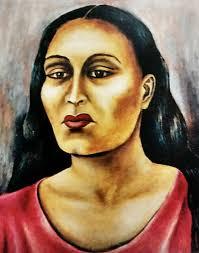 MARÍA IZQUIERDO_autorretrato_1943