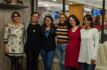 Viridiana Rivera, Elba Paniagua, Abigail Montealegre, Verónica Aguilar, Teresa Cortés y Amalinalli Armendáriz