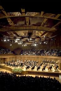 OFUNAM, segunda temporada. Sala Nezahualcóyotl. 2008, Fotografía, Dirección General de Música, UNAM, vía Wikipedia