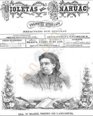 7) Portada Violetas del Anáhuac con Isabel