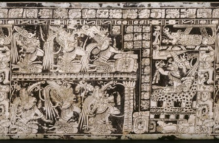 Piña-Investigación-Ethan A. Buendía Sánchez-Figura 5. Vasija de los Siete Dioses (K2796). Tomado de httpresearch.mayavase.comkerrmaya_hires.phpvase=2796.