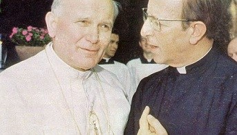 Juan Pablo II y Maciel