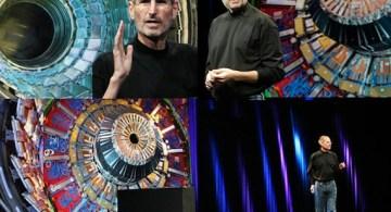 Steve Jobs y el colisionador de hadrones