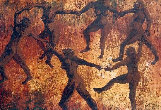 Danza primitiva.
