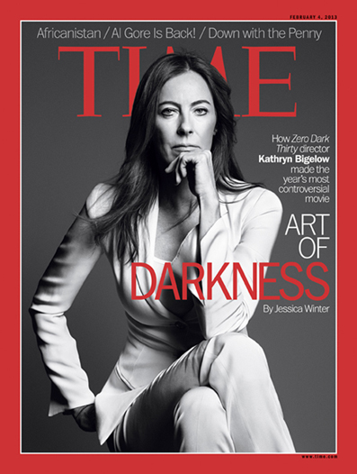 Bigelow en la portada de Time.