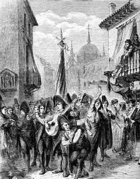 Carnaval en la Edad Media.