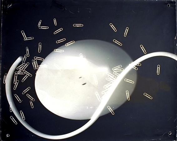 László Moholy-Nagy, fotograma, 1939. Eastman House Museum of Photography & Film, Rochester, Nueva York.