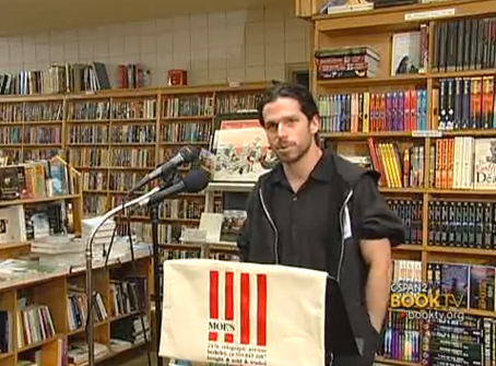 John Gibler. Foto Book TV.