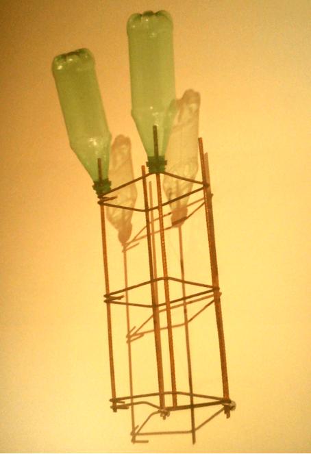 Roberto Rugeiro, Secador de botellas, 2011.