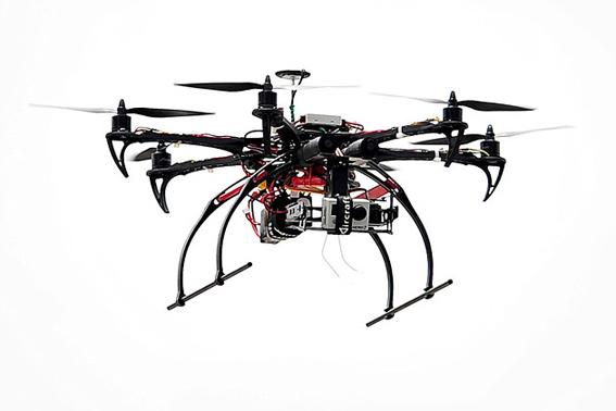 Vehículo volador no tripulado.