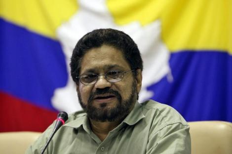El vocero de las FARC dice que la guerrilla no causó ningún daño a la población civil; 25 de enero de 2013. Foto EFE.
