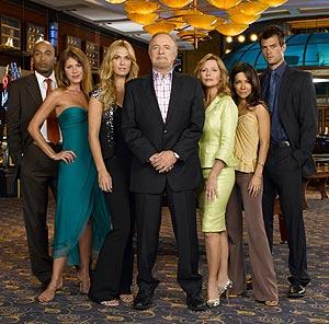 El elenco de Las Vegas.