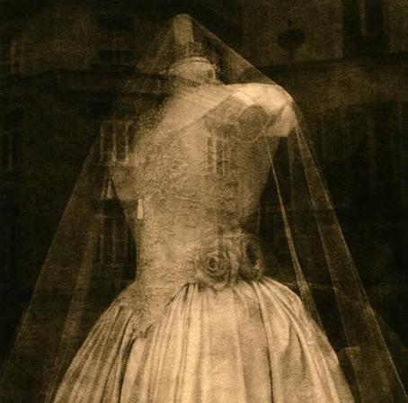 Viejo vestido de boda.
