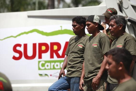 Trabajadores del SUPRA. Foto © Verónica Canino (AVN).