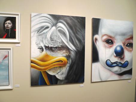 Imponentes piezas de un artista japonés.