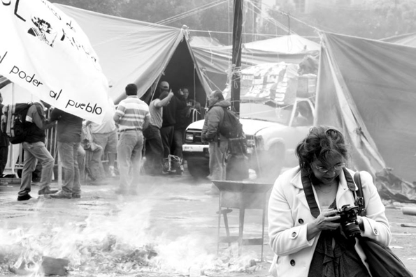 El campamento. Foto © Canek Sánchez.