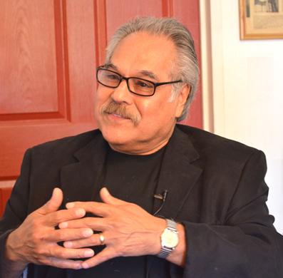 Las minorías serán mayorías... Luis Valdez. Foto © Itziar Castelló.