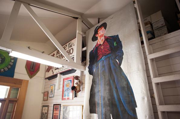 En la sede del Teatro Campesino. Foto © content-magazine.com
