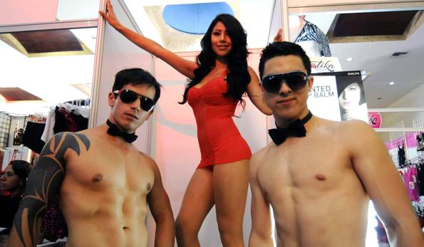 En la Expo Erótica Tijuana. Foto 20minutos.com.mx