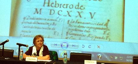 Margarita Peña. Foto www.filos.unam.mx