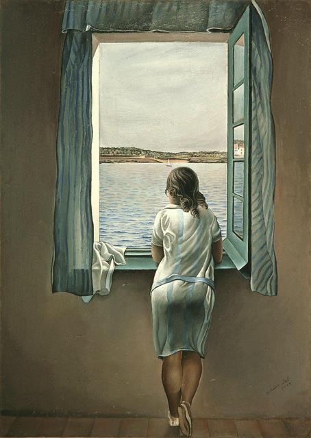 Dalí, Muchacha en la ventana.