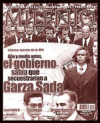 Portada del número de Milenio Semanal en el que Fernández Menéndez publicó su artículo.