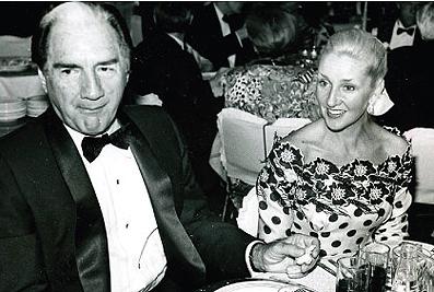 Emilio Azcárraga y Paula Cussi.