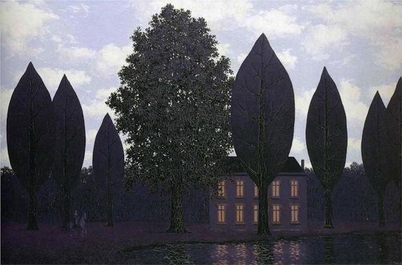 Las misteriosas barricadas © Rene Magritte