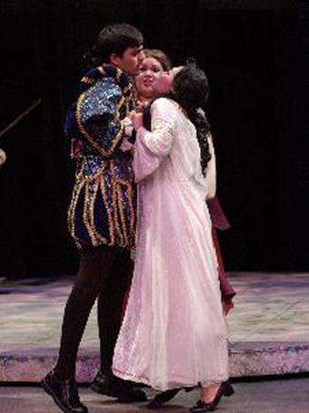 Una noche en la ópera.
