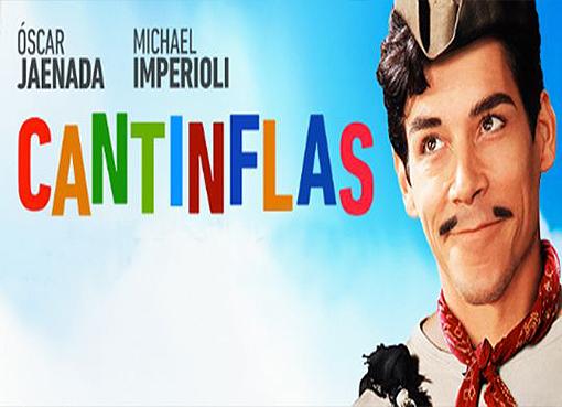 Jaenada como Cantinflas.
