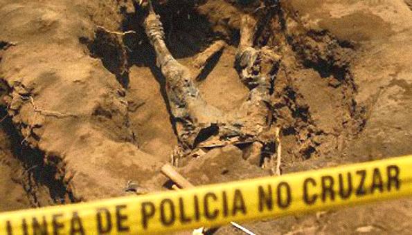 La destrucción de los restos.