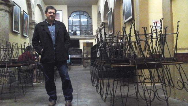 Eugenio Partida en La Fuente. Foto © J.A. Monterrosas.