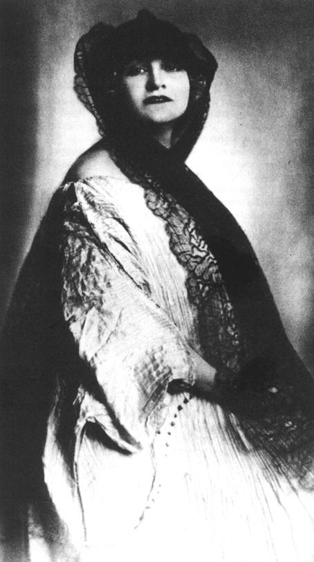 Doña Alma, la señora de Mahler.