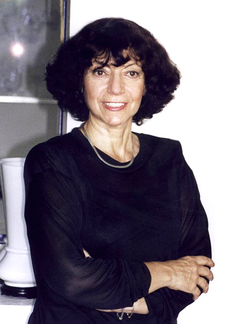 La autora, Luisa Valenzuela.