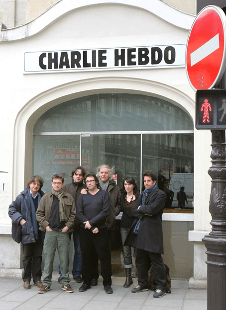 El staff del Charlie.