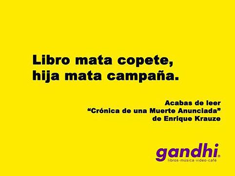 La campaña de Gandhi.