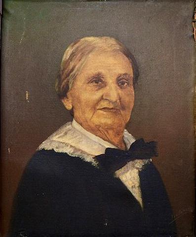 Retrato de Ana Roqué de Duprey, por el pintor López de Victoria. De la colección de la Corporación de las Artes Musicales. Foto por Juan Costa | Centro de Periodismo Investigativo.