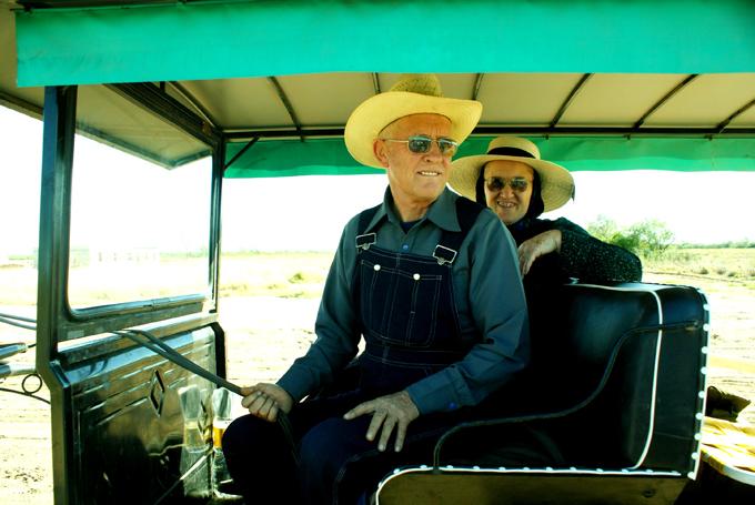 Juan y Aganetha. Fotografías de Consuelo cabral.