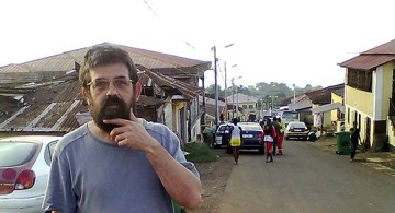 Paco Inclán, en alguna parte del mundo.