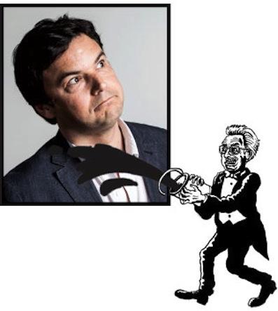 Más impuestos a los ricos. Thomas Piketty. Foto © Ed Alcock.