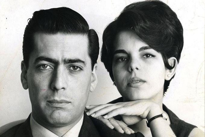 En su juventud, Mario Vargas Llosa y su prima y esposa Patricia Llosa.
