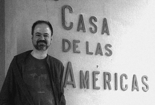 Villoro en Cuba. Foto de El Caimán Barbudo.